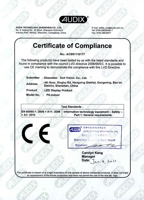 Certificación 6