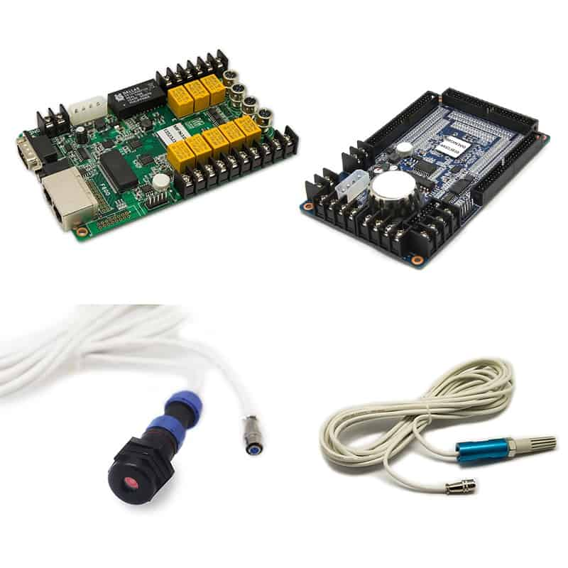 Sistema de control LED y procesadores de video 4